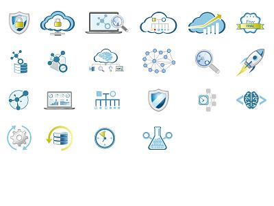 Product icons print website product icon branding logo illustration web photoshop illustrator design