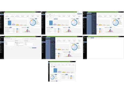 SaaS Product Revision design typography ui ux web illustration omnigraffle database website data visualization html css javascript php dashboard report analytics metrics saas chart