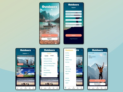 Design Exercise: Outdoorz Travel