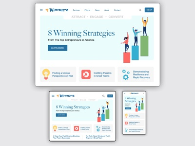 Responsive Design Exercise navigation menu device mobile tablet responsive desktop website branding illustration photoshop omnigraffle web ux ui typography design
