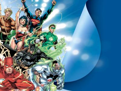DC Comics New 52 Social Media Backs and Badges