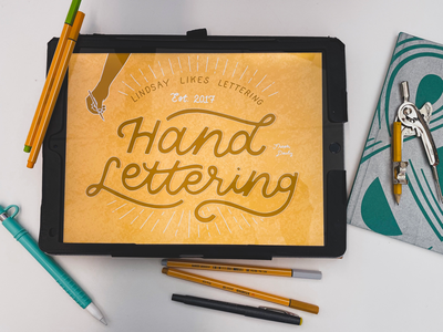 Hand lettering services