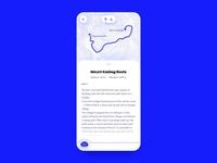 Mountaineering App Interaction