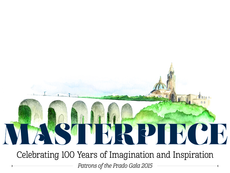 Logo Masterpiece Potp 2015 branding watercolor design illustration logo