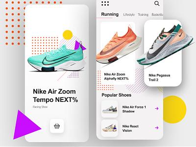 Running App appstore app design store ios shoes app running shoes