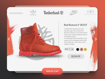 Red Boots shopping timberland winter widget red