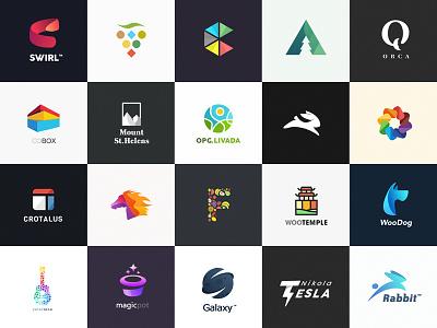 Logofolio 2017 illustration sign creative identity brand colors logofolio logo logotype