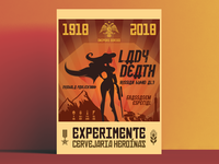 Lady Death - Craft Beer - Teaser Poster
