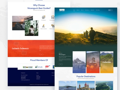 Tour Operator Web Redesign