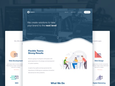 Marketing Agency Landing Page