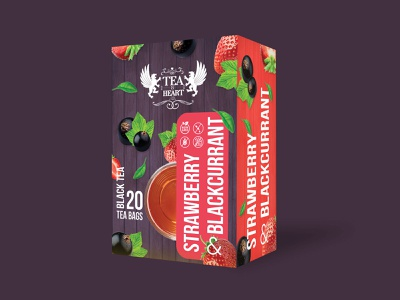 Package design for Tea & Heart product designs product development photoshop illustrator product design packaging