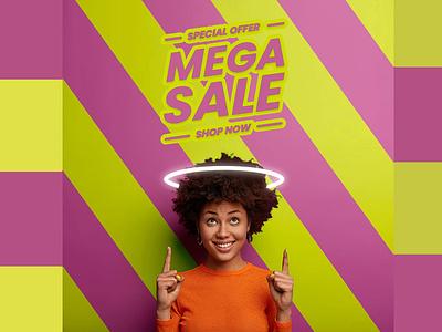 Sales promotional flyer for Instagram flyer instagram background photoshop