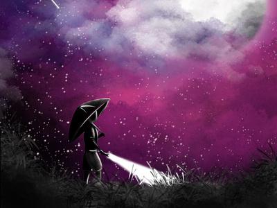 Alone - Digital art illustrator photoshop design illustration digital art