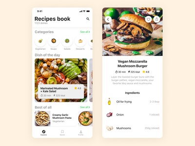 Food App — Recipes