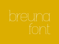 Breuna Font