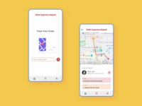 Courier Tracking App Idea.