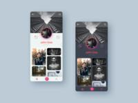Photo Sharing App - Neumorphic Interface Design