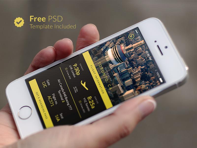 free travel app template by moe saad dribbble