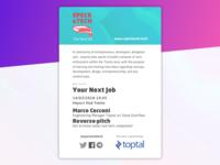 Speck&Tech meetup poster