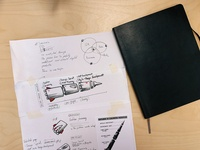Paper prototyping of the services page