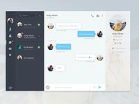 Chat / Messaging App for Desktop