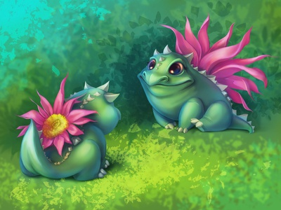 Flower Frogs
