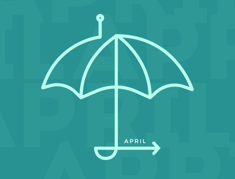 April Showers Icon