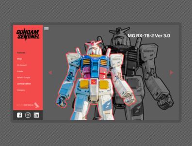 Gunpla Website - Gundam Sentinel