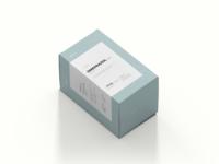 Minimal OMEPRAZOL packaging - redesign