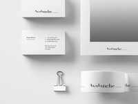 Brand design for Avalanche design studio.