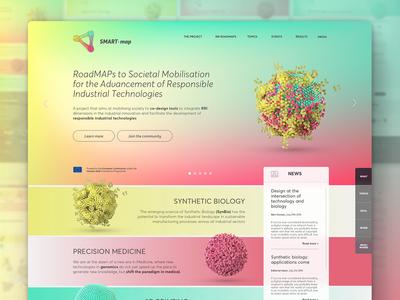 SMART-map Web Homepage