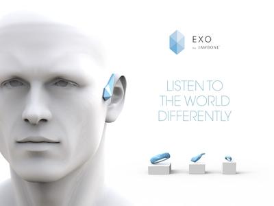 Jawbone EXO Ecosystem - Smart Headset