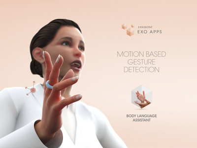 Jawbone EXO Apps - The Body Language Assistant