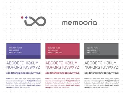 Memooria Logo & Design System