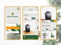 Plant House App Ui Design - E-commerce Store