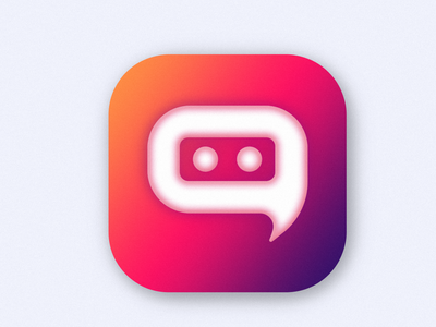 Bot Pin icon dribbble vector logo iconography icon app design illustration dailyui branding design art appicon