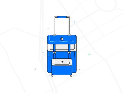 Traveling - illustration