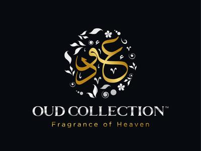 Perfume Logo OUD Arabic Calligraphy arabiclogomaker