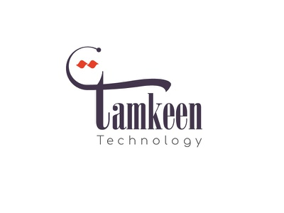 Tamkeen Tech Logo arabic typography techlogo art direction 3d shading arabic calligraphy arabic logo maker arabic logo arabic calligraphy