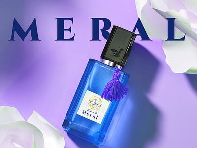 Meral Perfumes- Logo and Branding WIP perfume perfume bottle branding arabic calligraphy calligraphy arabic