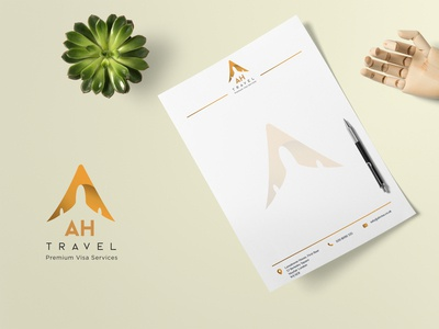 AH Travel Logo & Branding