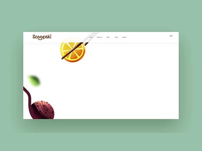 web animation interaction food motion desing illustration