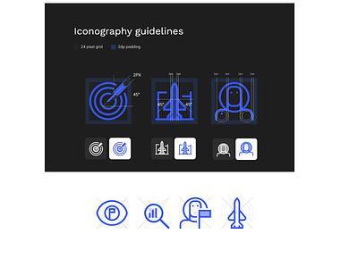 icon style guide branding ui design illustration