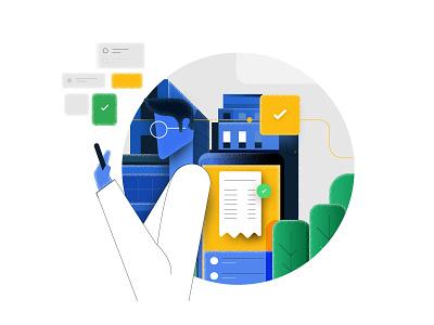 Digital spend illustration illustrator digital design illustration