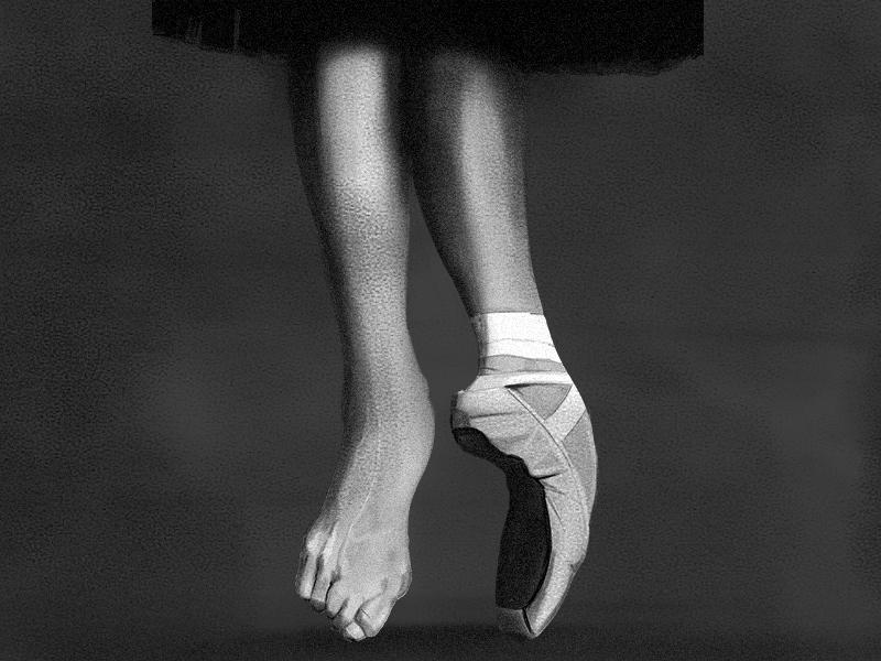 Ballet dance digital digital art illustration art ballet