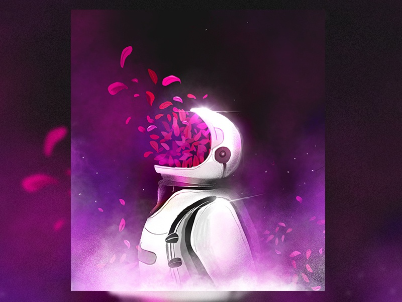 Astro Mind astronaut dance digital digital art illustration art atro