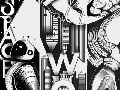 Wallgraphics wallgraphics illustration wall art design wacom wallart