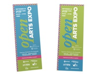 OPEN Arts Expo Posters