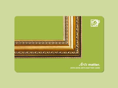 Arts Matter Card 1/4