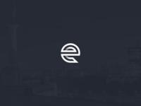 """""""e"""" logo mark"""